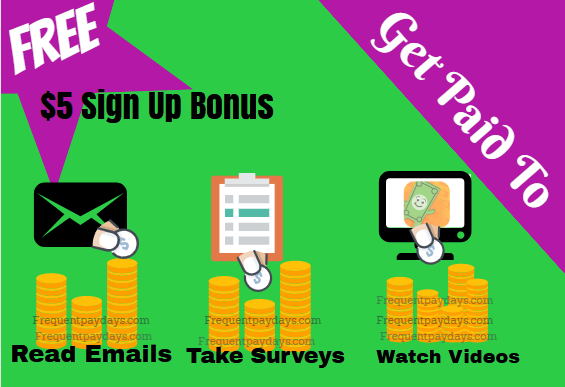 Earn $5 When You Sign Up And Confirm Your Email Address