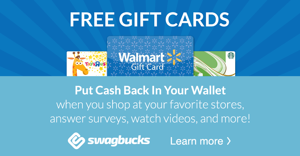 Earn $3 When You Join SwagBucks