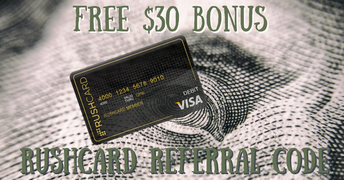 RushCard $30 Cash Bonus