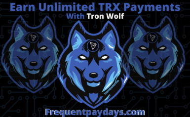 Earn Unlimited Tron Payments With Tron Wolf