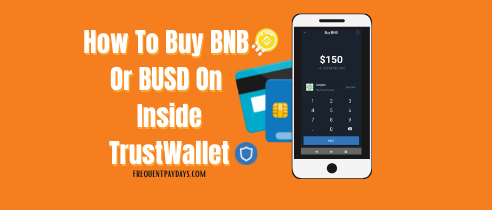 How To Buy BNB Or BUSD In Trust Wallet To Register For Forsage BUSD